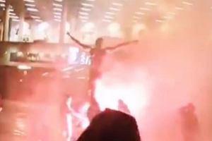 Pomnik Zlatana Ibrahimovia podpalony. Szwed rozwścieczył kibiców [WIDEO]
