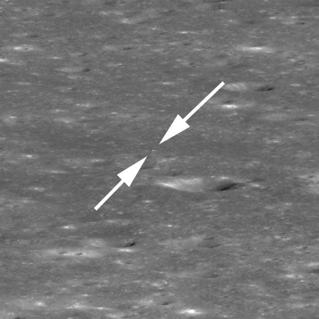 NASA wysłała na Księżyc sondę, by potwierdzić, że Chińczycy wylądowali w kraterze Von Karmana