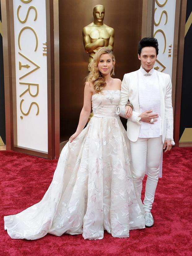 Tara Lipinski i Johnny Weir - Oscary 2014