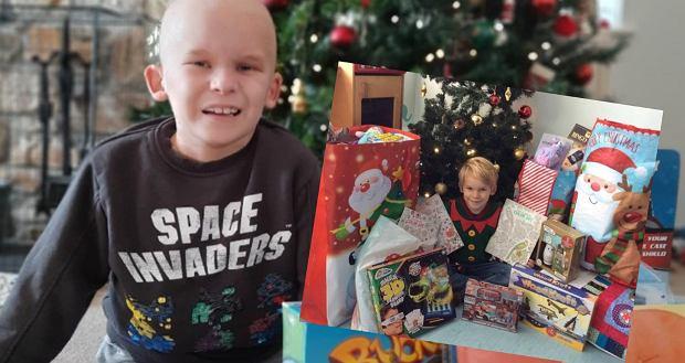 Ośmiolatek od dwóch lat organizuje zbiórkę pieniędzy na prezenty dla chorych dzieci. Od kilku miesięcy sam zmaga się z chorobą