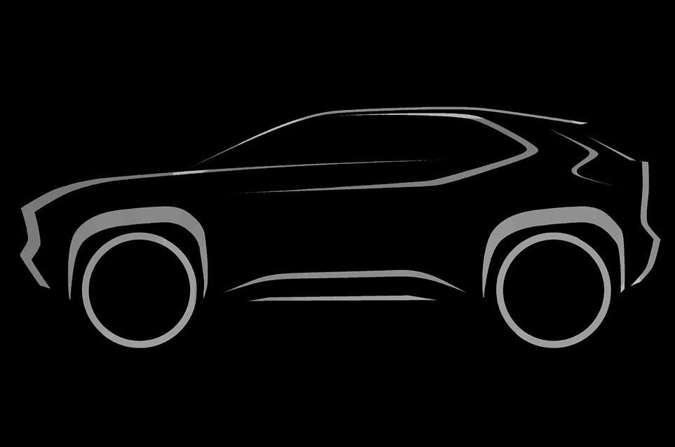 Toyota B-SUV oparty na Yarisie, teaser