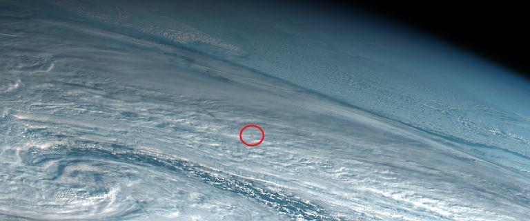Meteor nad Morzem Beringa. Eksplozja meteorytu o sile 10 razy większej niż bomba zrzucona na Hiroshimę