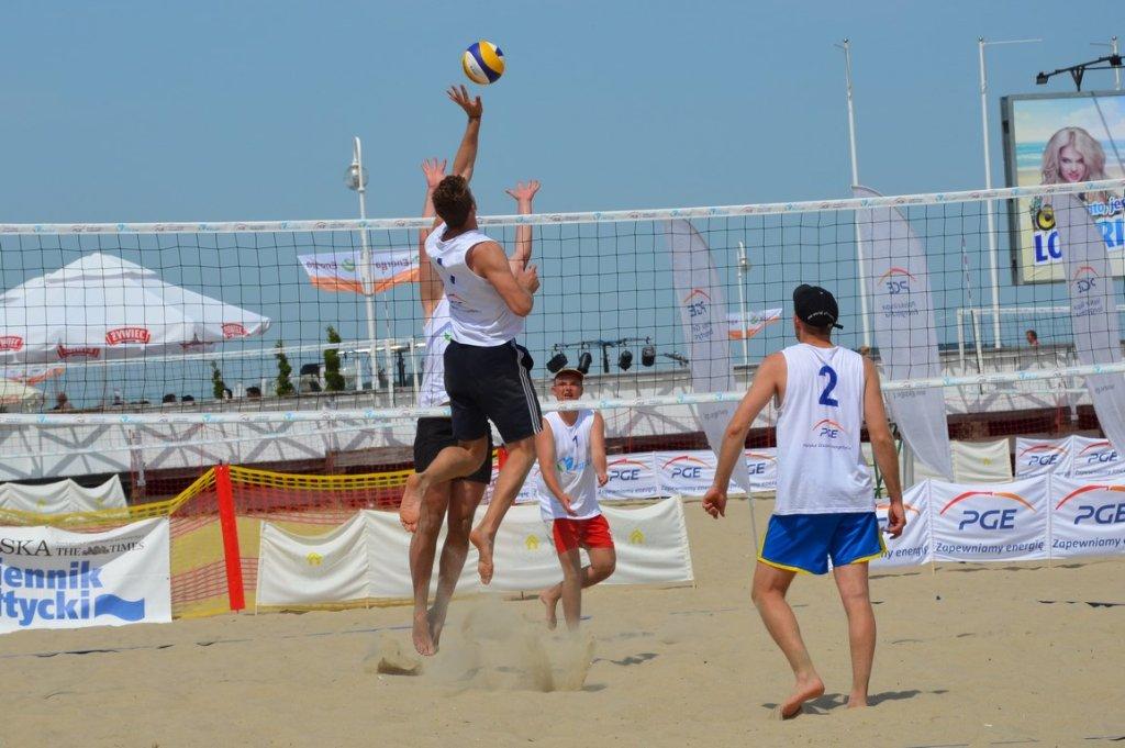 Turniej siatkówki plażowej z cyklu PGE Cup
