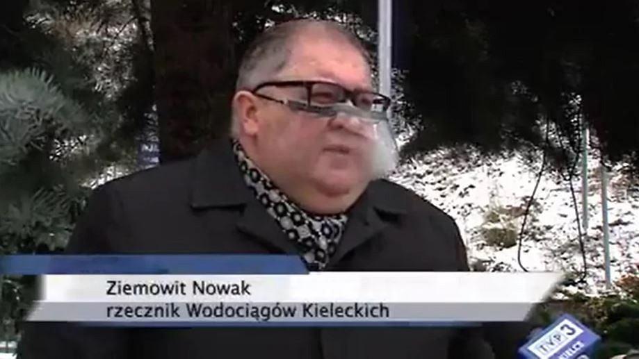 Kielce. Wywiad z rzecznikiem kieleckich wodociągów hitem sieci. 'Mam dowód na kłamstwo TVP3'
