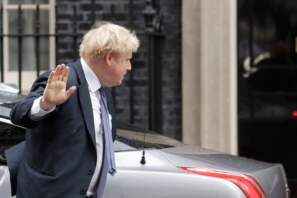 Brexit. Przygotowania do negocjacji handlowych na linii Wielka Brytania - UE. Na zdjęciu Boris Johnson, brytyjski premier
