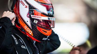Robert Kubica sprawdzi nowy bolid zespołu Alfa Romeo