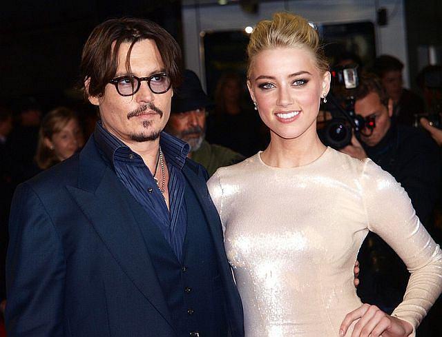 Johnny Depp i jego narzeczona, Amber Heard.