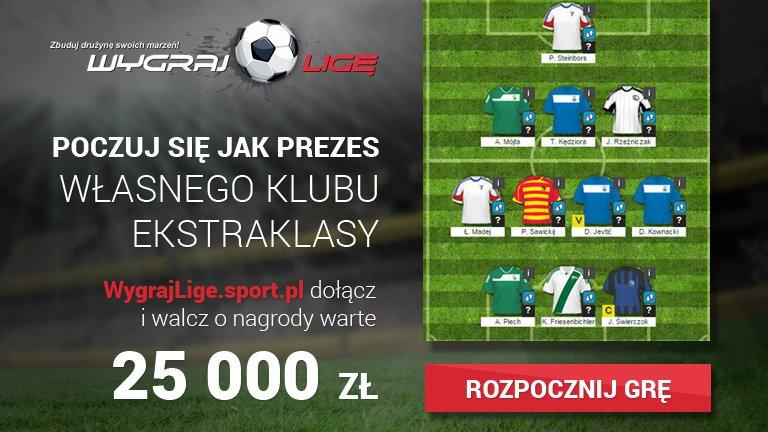 Wygraj Ligę Start Edycji: wygrajlige.sport.pl