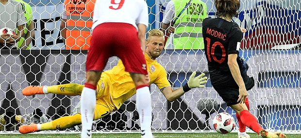 Russia Soccer WCup Croatia Denmark