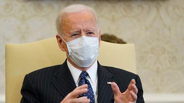 Prezydent USA Joe Biden, 9 lutego 2021 r.