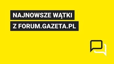 Najnowsze wątki z Forum.Gazeta.pl
