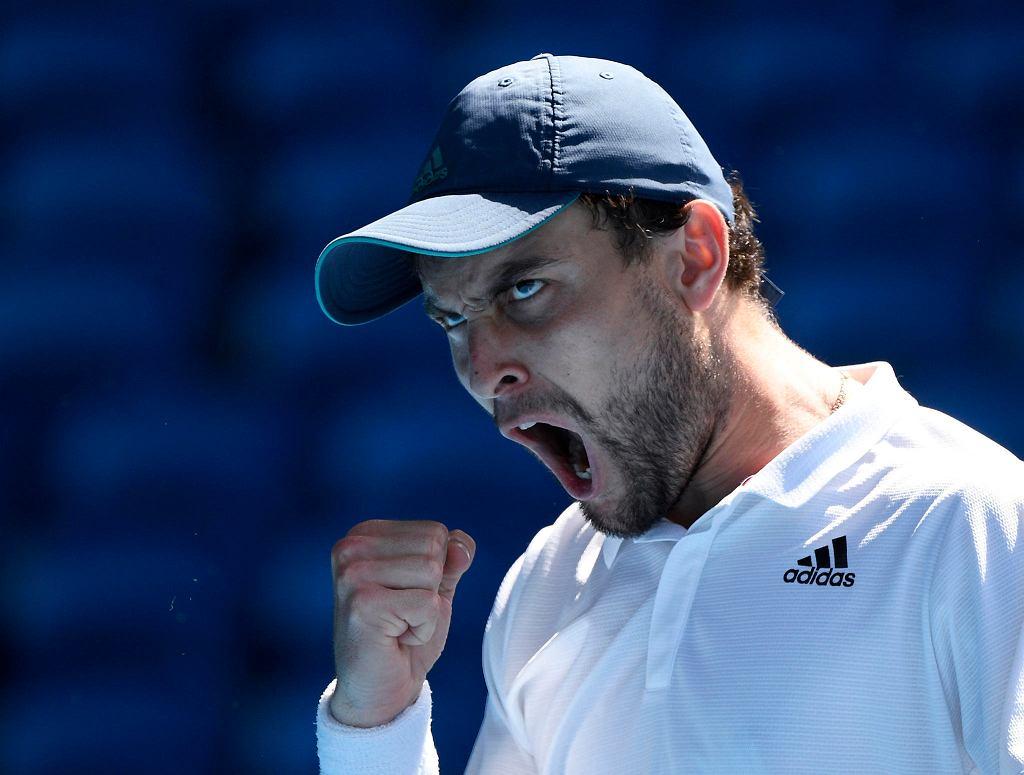 Australian Open 2021. Asłan Karacew