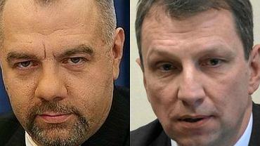 Jacek Sasin i Andrzej Halicki