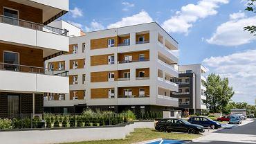 Osiedle Punkt Piękna firmy Profit Development na osiedlu Tarnogaj we Wrocławiu