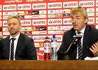 Jerzy Brzęczek i Zbigniew Boniek