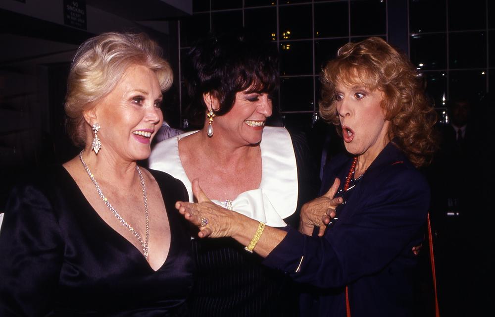Zsa Zsa Gabor z koleżankami aktorkami, Joanne Worley i Ruth Buzzi  (fot. Shutterstock)
