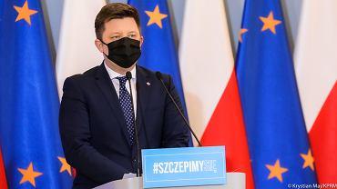 Michał Dworczyk przedstawił zmiany w Narodowym Programie Szczepień