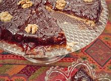 Ciasto jesienne śliwkowo-orzechowe - ugotuj
