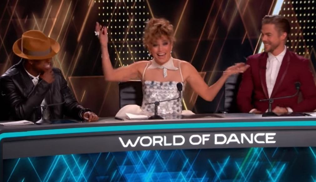 Jennifer Lopez zobaczyła, jak tańczą i aż wstała z wrażenia. Dali dziki popis