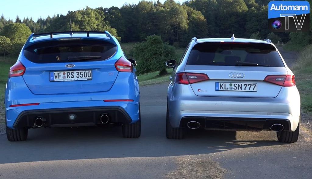 Focus RS vs Audi RS3