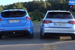 Ford Focus RS vs Audi RS3 | Który ma lepszy wydech?