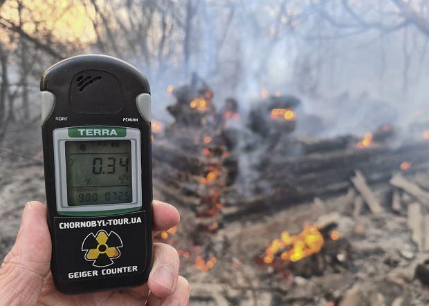 Pożary w okolicy Czarnobyla 'nie mają wpływu na sytuację radiacyjną w Polsce' - poinformował na Twitterze zastępca dyrektora Rządowego Centrum Bezpieczeństwa