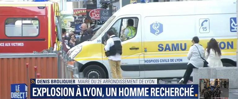 Francja: eksplozja w Lyonie, są ranni