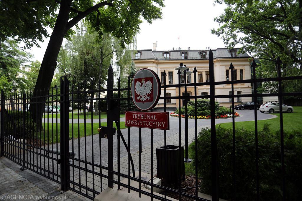 Siedziba Trybunału Konstytucyjnego (fot . Sławomir Kamiński / Agencja Gazeta)