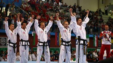 Polscy drużynowi mistrzowie świata w taekwon-do w układach drużynowych seniorów