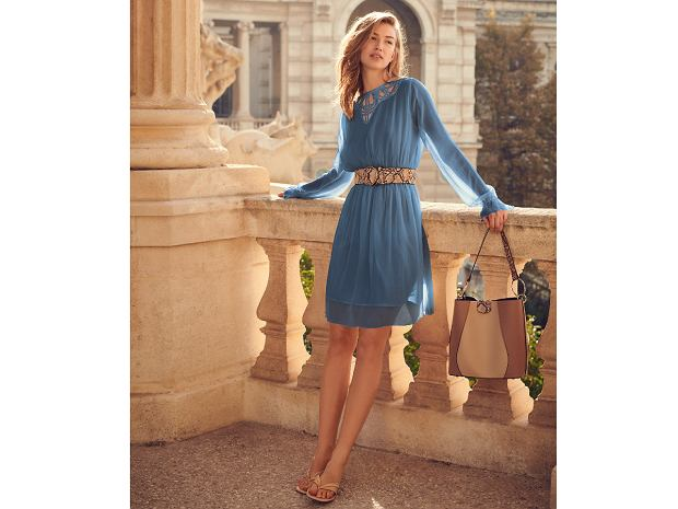 Orsay sukienka z szyfonu