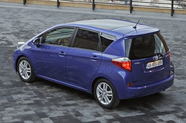 Toyota Verso-S (fot. Toyota)