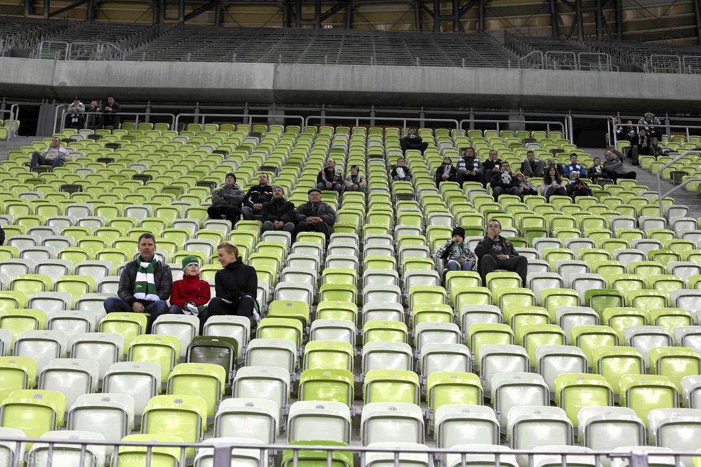 Mecz Lechii Gdańsk z Piastem Gliwice oglądało tylko 7705 widzów