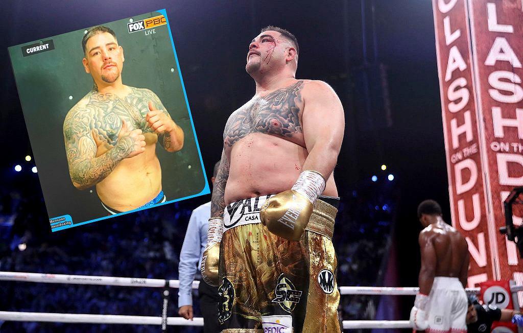 Sylwetka Andy'ego Ruiza przed walką z Chrisem Arreolą