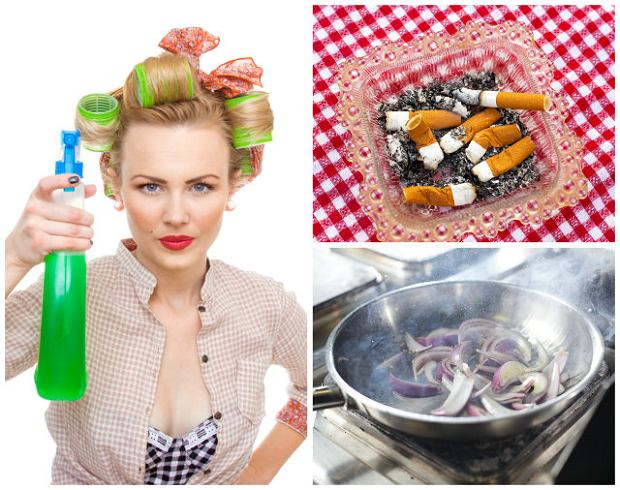 Wystarczająco Perfekcyjna Pani Domu: Pozbądź się brzydkich zapachów w domu