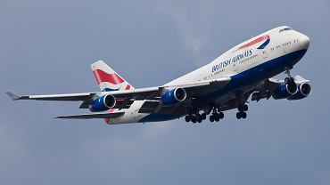 Samolot British Airways