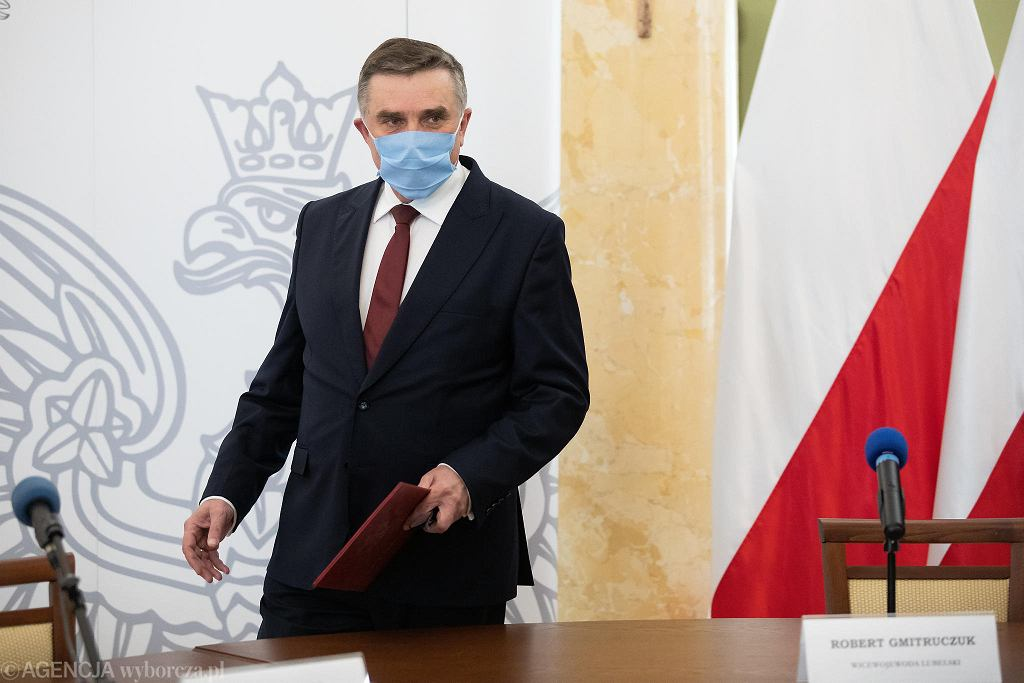 Wojewoda lubelski Lech Sprawka