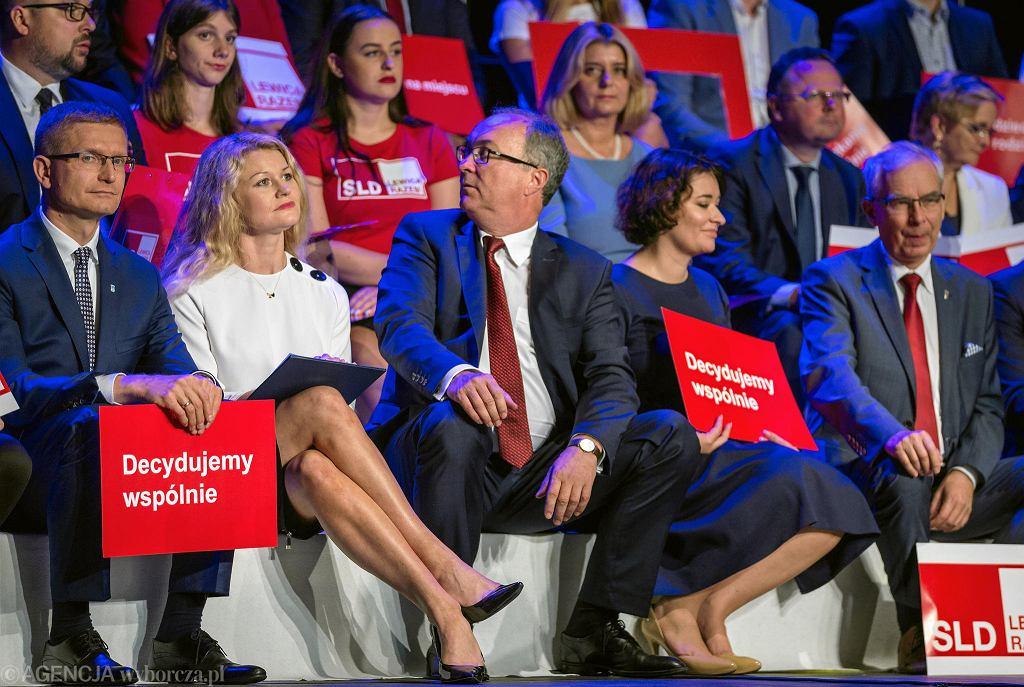 Konwencja wyborcza SLD Lewica Razem w Dąbrowie Górniczej