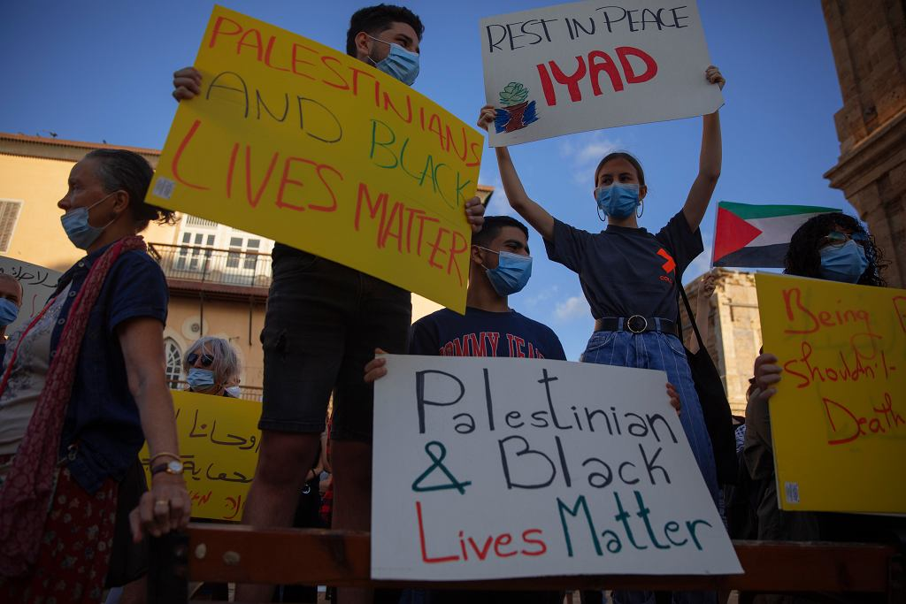 Protesty po śmierci 32-letniego autystycznego Palestyńczyka zastrzelonego przez policję w Jerozolimie.