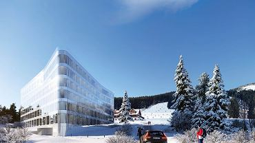 Wizualizacja inwestycji Aparthotel Biała Perła