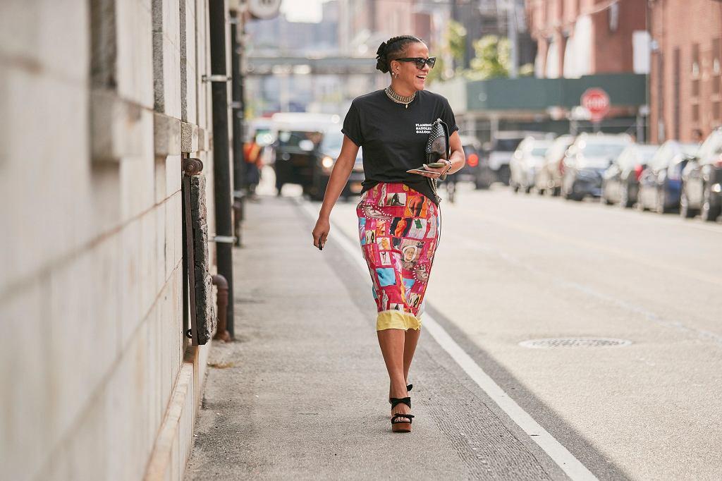 Moda 2020 spódnice we wzory
