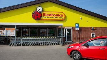 Biedronka w Krakowie. Osiedle Strusia , 18 marca 2016