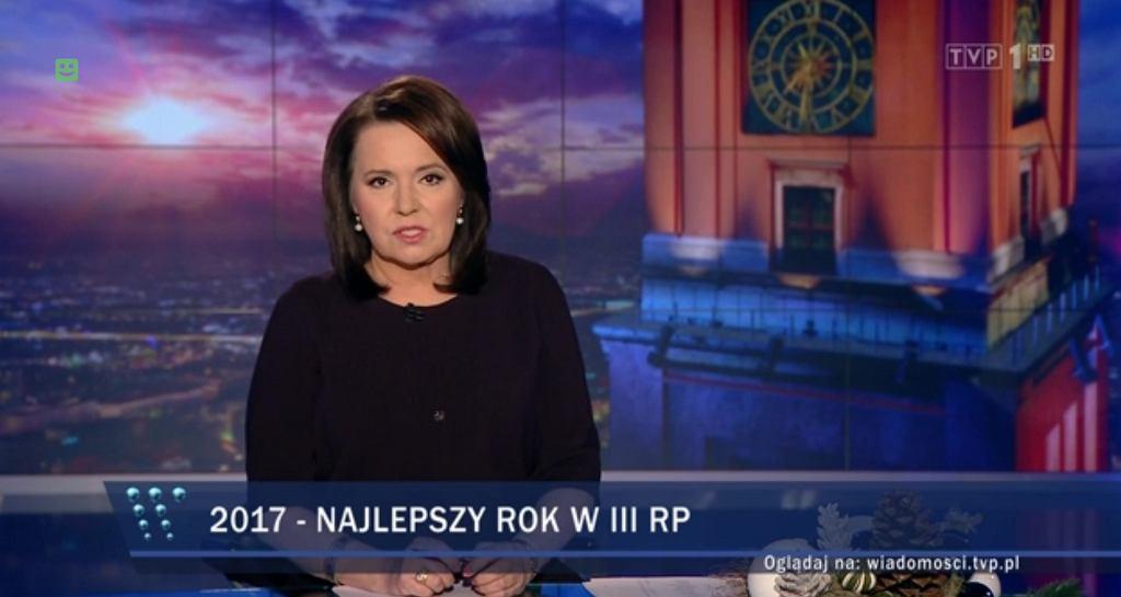 'Wiadomości' TVP z 5 stycznia 2018 r.