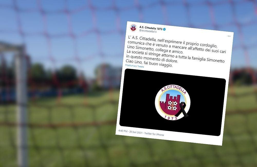 Kłopoty pozaboiskowe włoskiego piłkarza. Śmiertelnie potrącił pracownika klubu