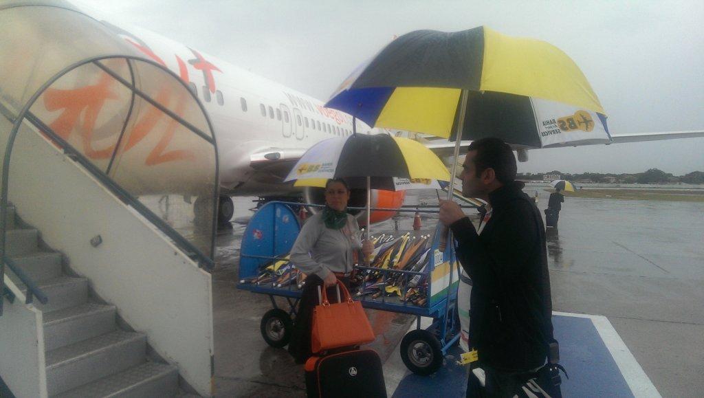 Lotnisko w Brazylii