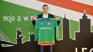 Radosław Cierzniak podpisał kontrakt z Legią