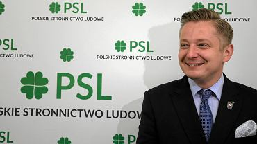 Jakub Stefaniak, kandydat PSL na prezydenta Warszawy