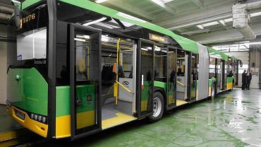 Jeden z autobusów Solarisa