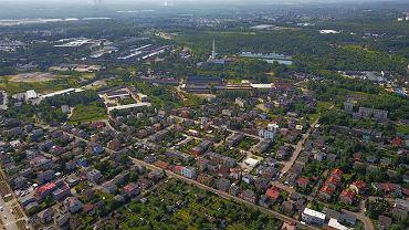 Sosnowiec. Panorama miasta
