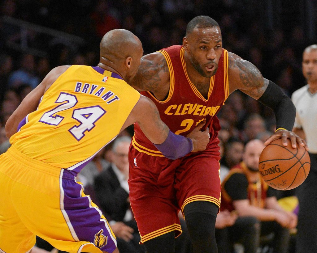 Kobe Bryant kontra LeBron James