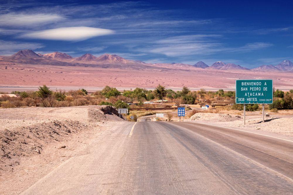 Droga do San Pedro de Atacama / fot. Shutterstock